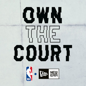 NBA ropa actual. Marca New Era. Own the court. Gorras, chaquetas, capuchas, camisetas.